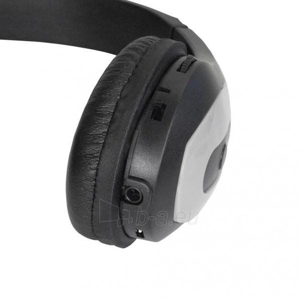 Ausinės ART Bluetooth Headphones with microphone AP-B03 grey Paveikslėlis 3 iš 5 250255091340