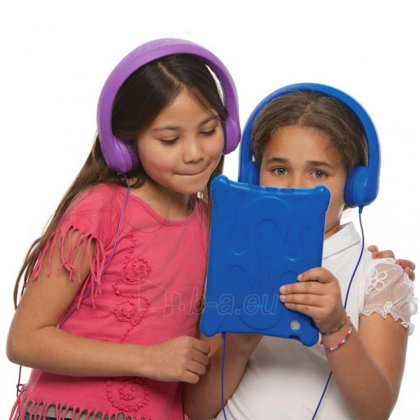Ausinės ART Headphones for kids AP-T01B blue Paveikslėlis 4 iš 7 310820001474
