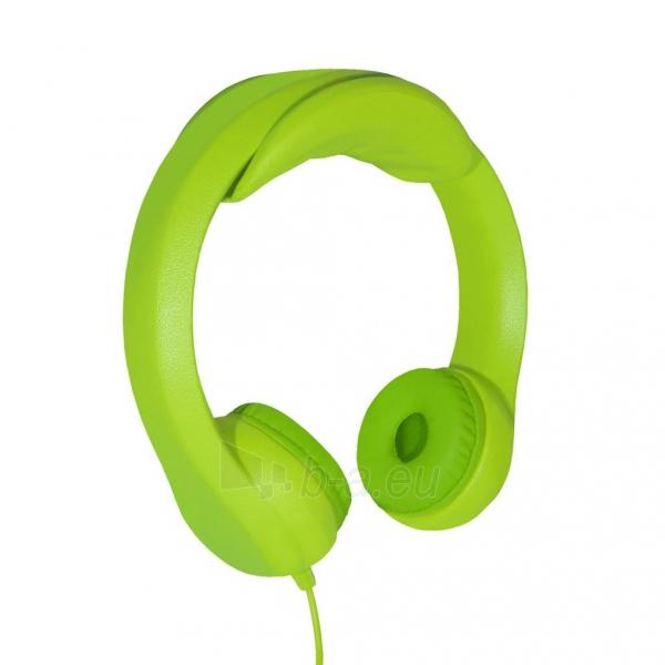 Ausinės ART Headphones for kids AP-T01G green Paveikslėlis 1 iš 6 310820001475