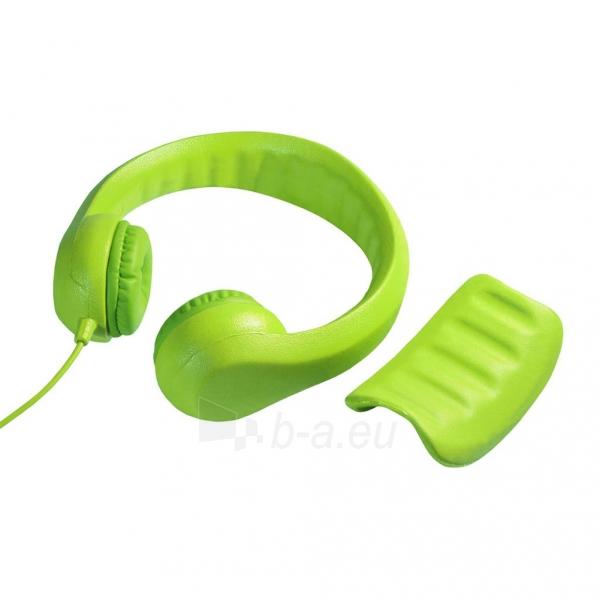 Ausinės ART Headphones for kids AP-T01G green Paveikslėlis 3 iš 6 310820001475