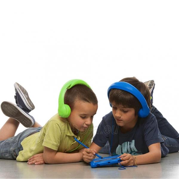 Ausinės ART Headphones for kids AP-T01G green Paveikslėlis 5 iš 6 310820001475