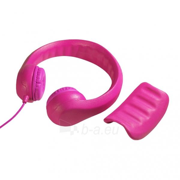 Ausinės ART Headphones for kids AP-T01P pink Paveikslėlis 3 iš 6 310820001476
