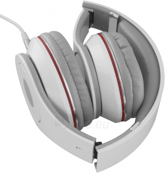 Audio/stereo ausinės Esperanza EH141W RENELL| 5m su garso reguliatoriumi | Balta Paveikslėlis 2 iš 3 250255090478