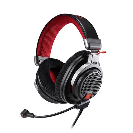 Ausinės Audio Technica ATH-PDG1a 3.5mm (1/8 inch), Over-ear, Microphone, Black/Red Paveikslėlis 1 iš 5 310820220020