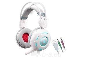 Ausinės Ausinės A4-Tech Bloody G300 baltas su mikrofonu Paveikslėlis 1 iš 1 310820021613