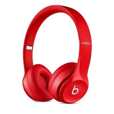 Ausinės Beats Solo 2.0 Wireless MHNJ2ZM/A red Paveikslėlis 1 iš 7 310820153497