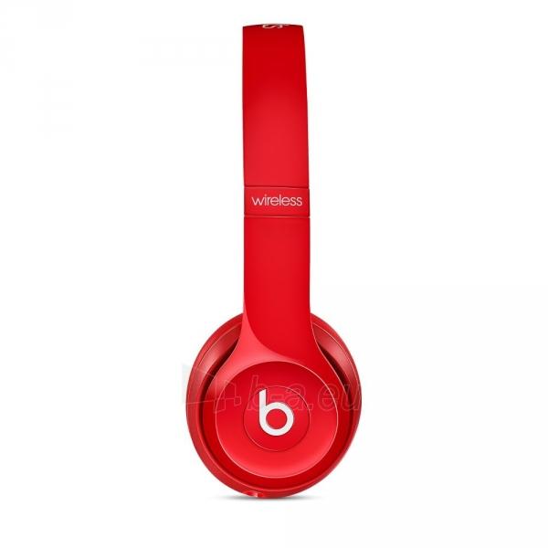 Ausinės Beats Solo 2.0 Wireless MHNJ2ZM/A red Paveikslėlis 3 iš 7 310820153497