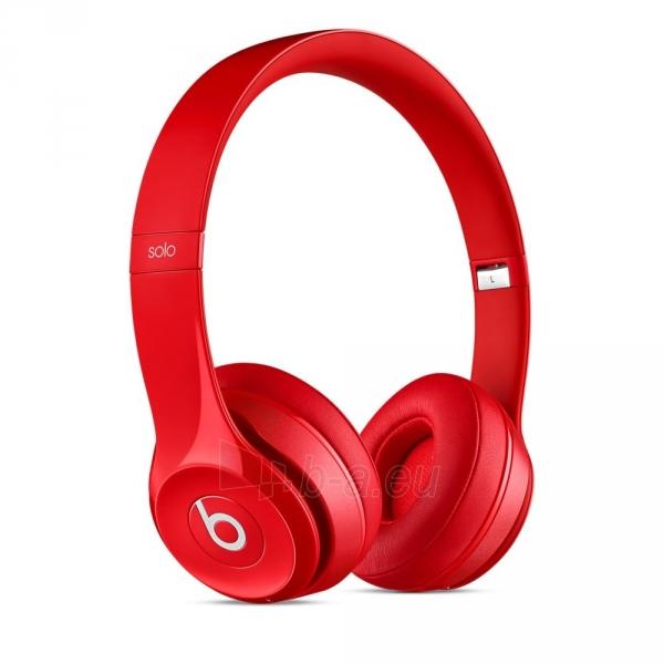 Ausinės Beats Solo 2.0 Wireless MHNJ2ZM/A red Paveikslėlis 6 iš 7 310820153497