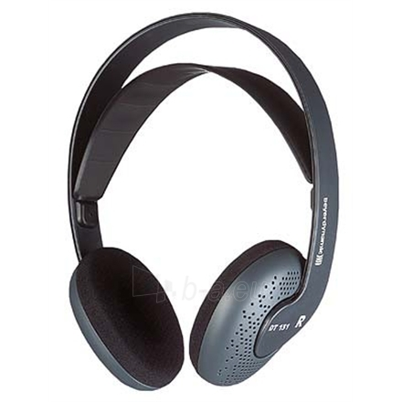 Beyerdynamic DT 131 Headphones/ 40 Ohms/ Open, with Single Sided Cable/ Stereo Mini-Jack and 1/4'' Adapter Paveikslėlis 1 iš 1 250212000339