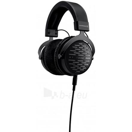 Ausinės Beyerdynamic DT 1990 Pro 250 Headband/On-Ear, 5-40,000 Hz, Noice canceling, Black Paveikslėlis 4 iš 4 310820224614
