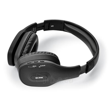 Bluetooth ausinės ACME BH40 Foldable Bluetooth headset Paveikslėlis 1 iš 7 250212003000