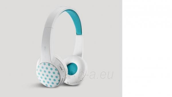 Ausinės Bluetooth headphones Rapoo Multi-Style S100 WHITE Paveikslėlis 1 iš 2 310820017139