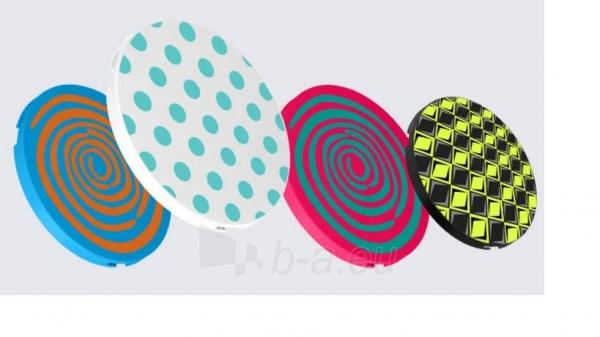 Ausinės Bluetooth headphones Rapoo Multi-Style S100 WHITE Paveikslėlis 2 iš 2 310820017139