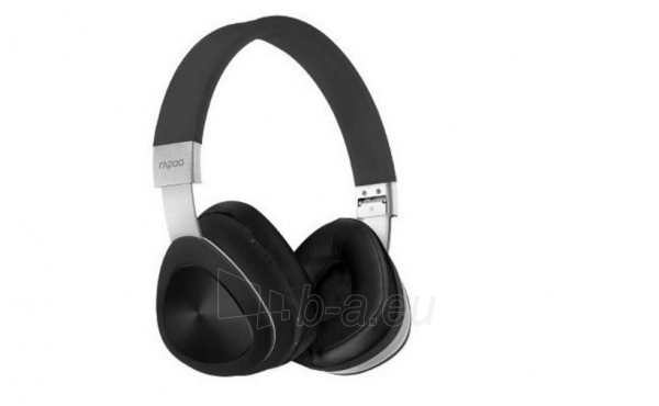 Ausinės Bluetooth headphones Rapoo S700 4.1 NFC BLACK Paveikslėlis 1 iš 1 310820017142