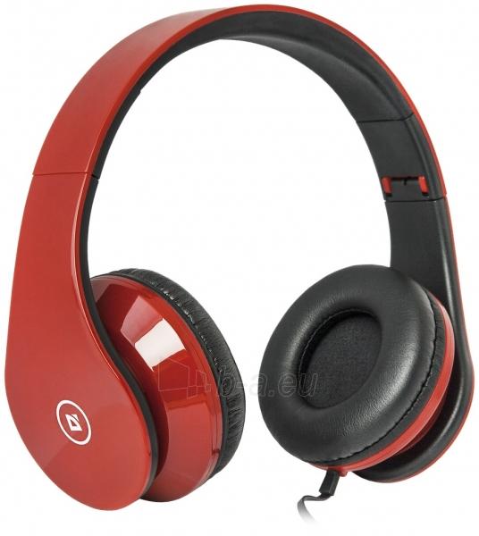 Ausinės DEFENDER Headset Accord HN-047 red Paveikslėlis 1 iš 1 310820001598