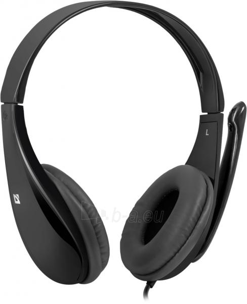 Ausinės DEFENDER Headset for PC Aura 111 black Paveikslėlis 1 iš 1 310820001089