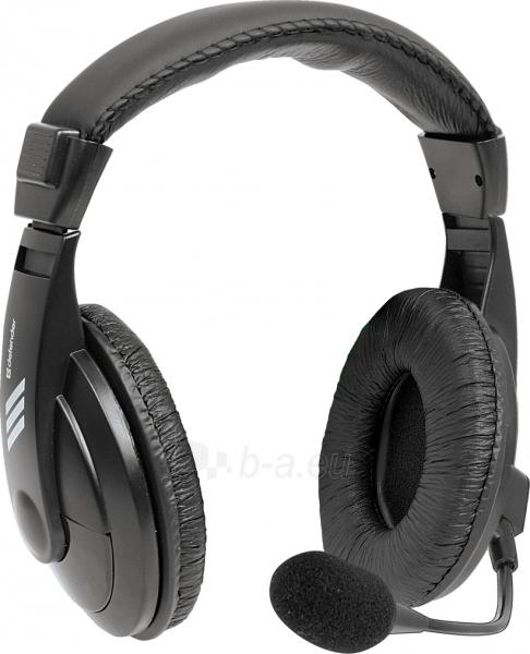 Ausinės DEFENDER Headset for PC Gryphon 750 Paveikslėlis 1 iš 1 310820001594