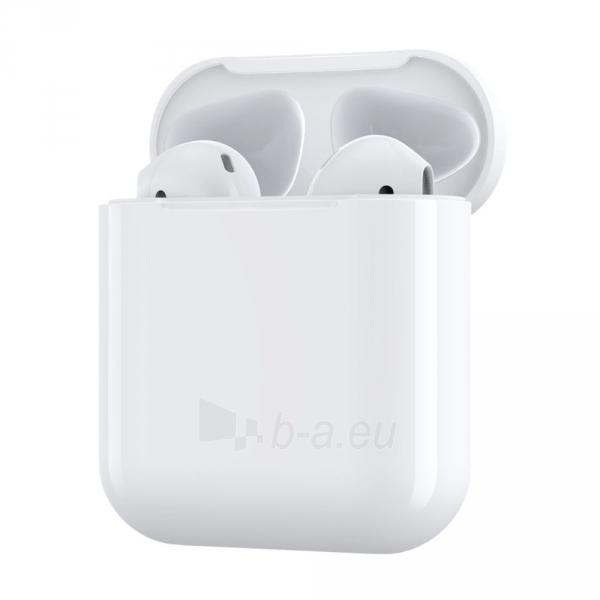 Ausinės Devia 5.0 TWS wireless earphone (V9) white Paveikslėlis 2 iš 8 310820217420