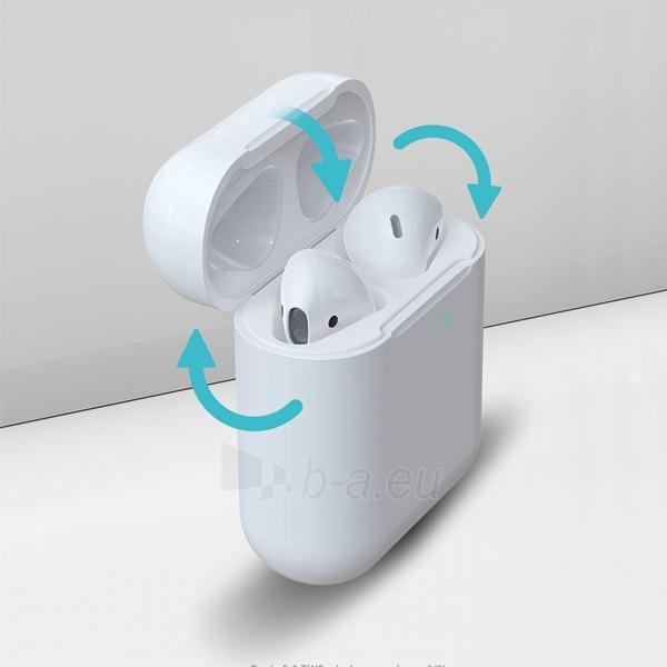 Ausinės Devia 5.0 TWS wireless earphone (V9) white Paveikslėlis 5 iš 8 310820217420