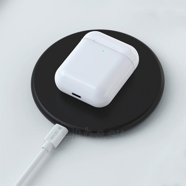 Ausinės Devia 5.0 TWS wireless earphone (V9) white Paveikslėlis 6 iš 8 310820217420