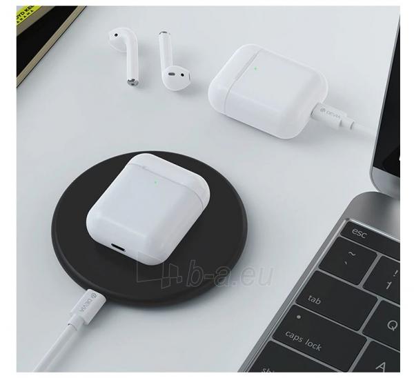 Ausinės Devia 5.0 TWS wireless earphone (V9) white Paveikslėlis 7 iš 8 310820217420