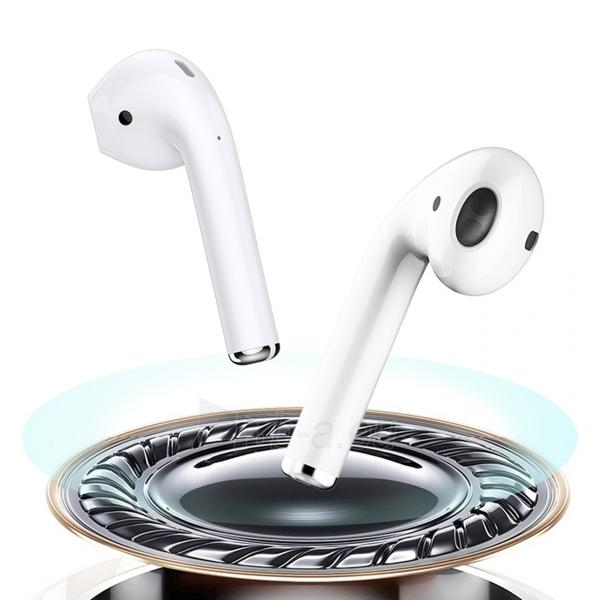 Ausinės Devia 5.0 TWS wireless earphone (V9) white Paveikslėlis 8 iš 8 310820217420