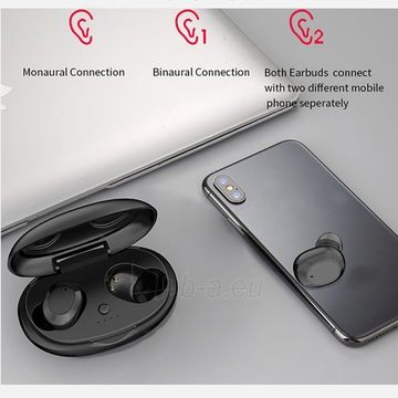 Ausinės Devia Joy A1 series TWS earphone black Paveikslėlis 3 iš 6 310820238359