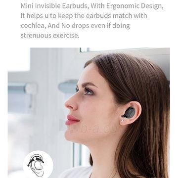 Ausinės Devia Joy A1 series TWS earphone black Paveikslėlis 5 iš 6 310820238359