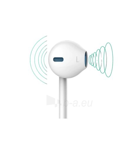 Ausinės Devia Smart earphone with lightning interface for iPhone white Paveikslėlis 2 iš 4 310820218372