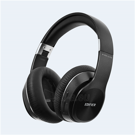 Ausinės Edifier Headphones BT W820BT Over-ear, Wired and Wireless, Black Paveikslėlis 2 iš 4 310820223935