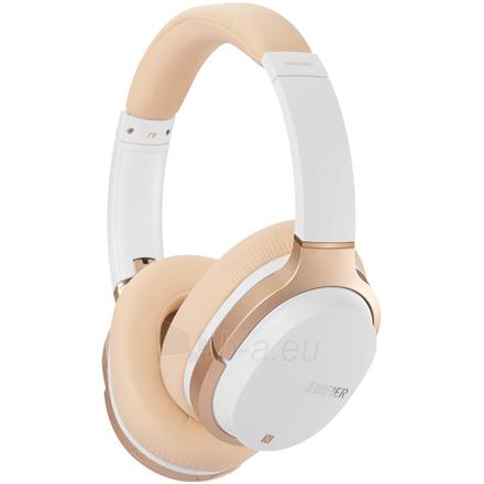 Ausinės Edifier Headphones BT W830BT Over-ear, Microphone, White/Creme Paveikslėlis 1 iš 3 310820224684