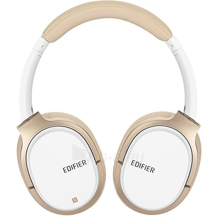 Ausinės Edifier Headphones BT W830BT Over-ear, Microphone, White/Creme Paveikslėlis 2 iš 3 310820224684
