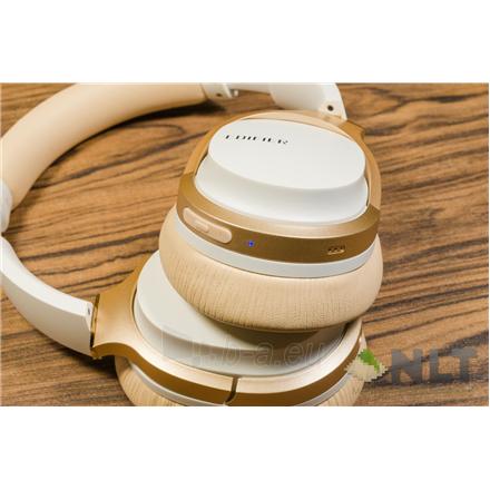 Ausinės Edifier Headphones BT W830BT Over-ear, Microphone, White/Creme Paveikslėlis 3 iš 3 310820224684