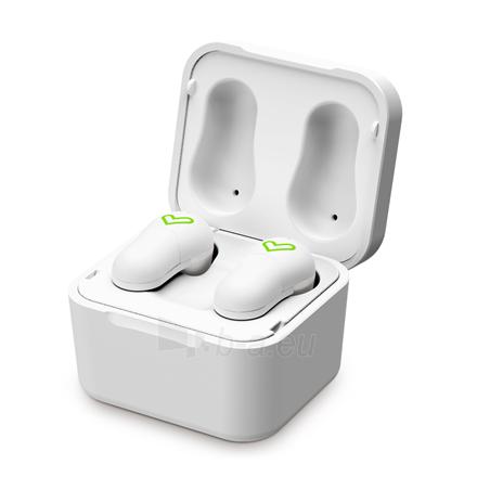 Ausinės Energy Sistem Earphones Style 6 True Wireless In-ear, Microphone, Wireless connection, White Paveikslėlis 3 iš 5 310820222348