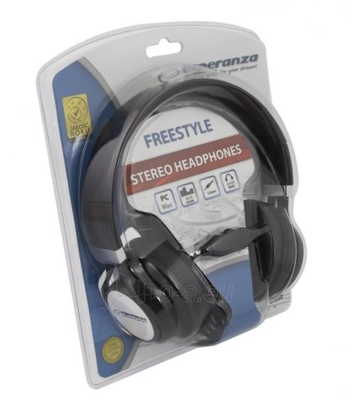 Esperanza EH159G FREESTYLE Audio/stereo ausinės  |  su garso reguliatoriumi 2m Paveikslėlis 2 iš 3 250255091194