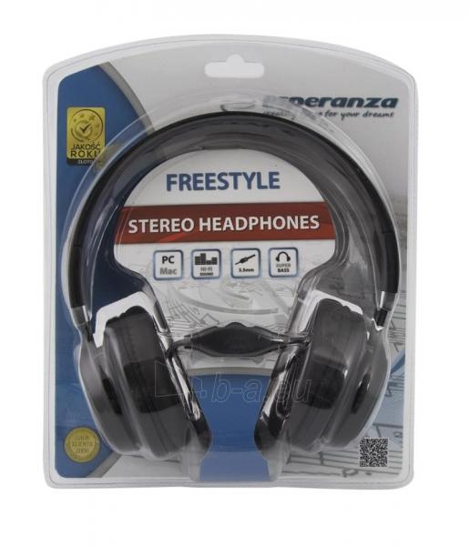 Esperanza EH159G FREESTYLE Audio/stereo ausinės  |  su garso reguliatoriumi 2m Paveikslėlis 3 iš 3 250255091194