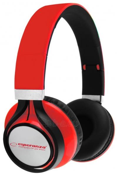 Esperanza EH159R FREESTYLE Audio/stereo ausinės     su garso reguliatoriumi 2m Paveikslėlis 1 iš 3 250255091195