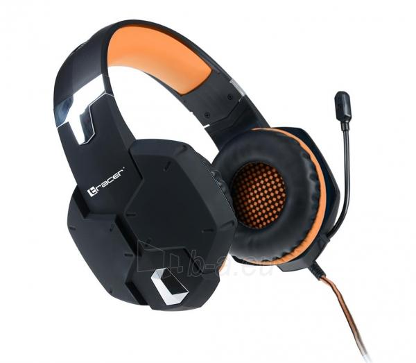 Gaming Headset TRACER DRAGON ORANGE Paveikslėlis 1 iš 1 250255091151