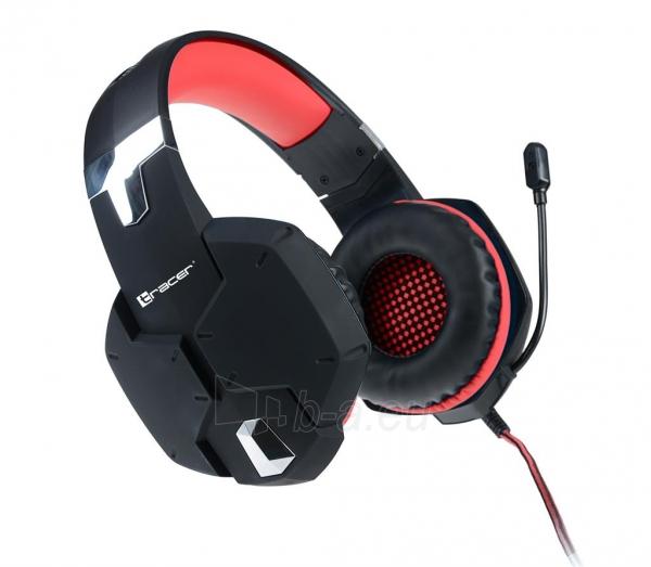 Gaming Headset TRACER DRAGON RED Paveikslėlis 1 iš 1 250255091152