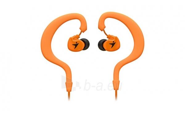 Ausinės Genius HS-M270 Oranžinės InEar Sport, Ear hook, Playback control Paveikslėlis 1 iš 2 250255091353