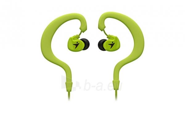 Ausinės Genius HS-M270 Žalios InEar Sport, 10mm, Ear hook, Playback control Paveikslėlis 1 iš 2 250255091354