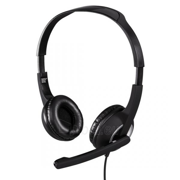 Ausinės HAMA Essential HS 300 PC Headset Paveikslėlis 1 iš 1 310820099546