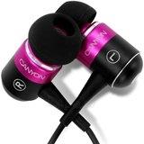 Ausinės Headphones CANYON CNR-EP8 (20Hz-20kHz, Cable, 1.5m) Magenta, Ret. Paveikslėlis 1 iš 5 250212002523