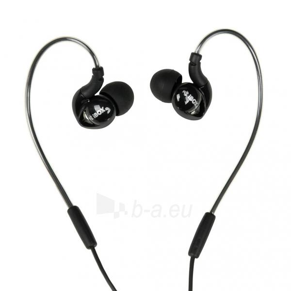 Ausinės I-BOX S1 Sport Audio Mobile BLACK Paveikslėlis 1 iš 7 310820001800