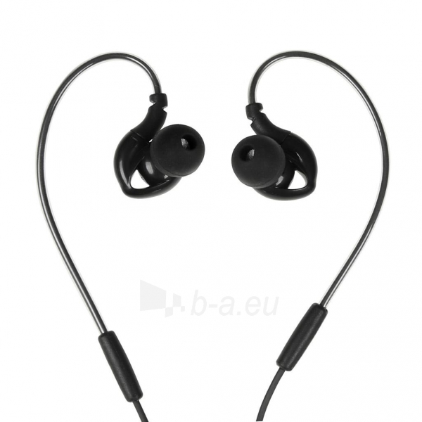 Ausinės I-BOX S1 Sport Audio Mobile BLACK Paveikslėlis 2 iš 7 310820001800