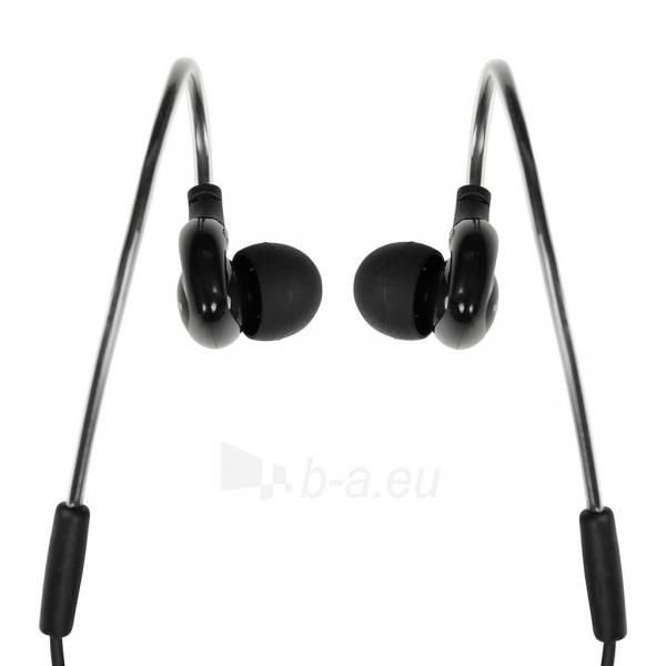 Ausinės I-BOX S1 Sport Audio Mobile BLACK Paveikslėlis 3 iš 7 310820001800