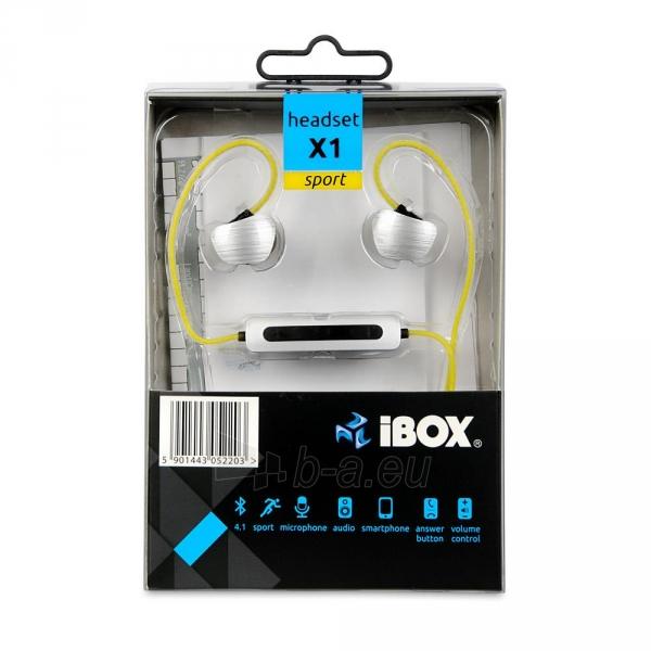 Ausinės I-BOX X1 BLUETOOTH Audio Mobile Paveikslėlis 8 iš 8 310820001799