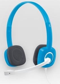 Ausinės Logitech Stereo H150 Blueberry Paveikslėlis 1 iš 1 250255091357