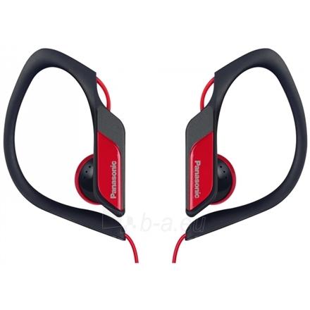 Ausinės Panasonic RP-HS34E-W Earphones, Red Paveikslėlis 1 iš 2 250212002960