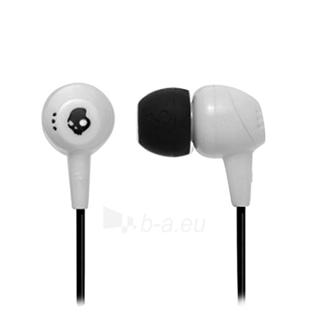 Ausinės Skullcandy JIB White 11mm drivers with neodymium magnets for full-range sound Paveikslėlis 1 iš 1 250212002583